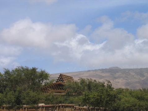 Kaheawa Wind Farm on Maui
